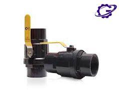 شیر توپی پلیمری ویسپار ball valve polymer vispar