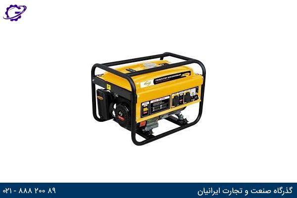 تصویر موتور برق بنزینی